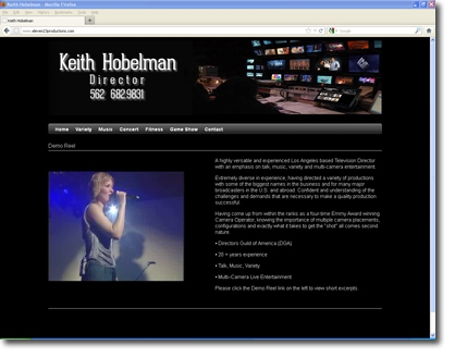 Keith Hobelman, Director - Website